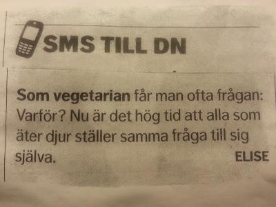 Som vegetarian